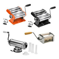 Manual Pasta Spaghetti Dough Cutter Sausage Meat Stuffer Lasagne Ravioli Maker