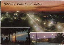 Alte Postkarte - Bibione Pineda di notte