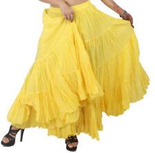 British Indian 25 Yard Tribal  Dancing Cotton Skirt