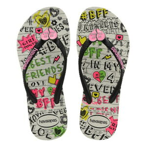 Havaianas Ciabatta Infradito Bimba Kids Slim Best Friends Branco