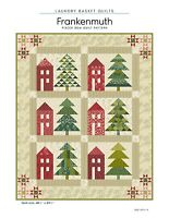 """Frankenmuth Christmas Qlt Pattern by Laundry Basket Quilts, (LBQ-0741-P) 48""""x59"""""""