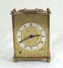 Vintage Mid Century Germany Kienzle Automatic Metal Mantel Desk Table Clock