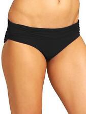 ATHLETA Shirred Band Swim Bottom XS X-SMALL Black | NEW NWT Tankini or Bikini