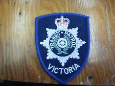 City of Victoria, Australia Transit Patrol Shoulder Flash/Patch - Obsolete, Defu