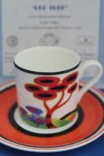 Cups & Saucers Art Deco British Clarice Cliff Pottery