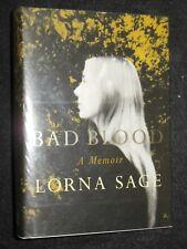 Bad Blood; A Memmoir by Lorna Sage (2000-1st) Literary Biography - Hardback, DJ