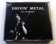 DRIVIN METAL Ace of Spades Motorhead Lemmy 2CD nwobhm VENOM 2005 Sanctuary UK