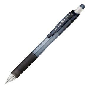 PL105A Pentel EnerGize-X Mechanical Pencil, 0.5mm, Black, Pack of 10