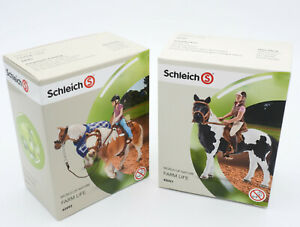 Schleich 42093 +42057 Horse Pony Riding Set, without horses, New