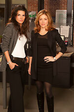 A. Harmon and S. Alexander (Rizzoli and Isles) 8x10 on set posing