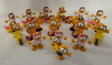 Vintage 1988 McDonald's GARFIELD Happy Meal Toys Scooter Skateboard Roller Skate