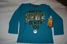 Star Wars L/S T Shirt Nwt Size 3T