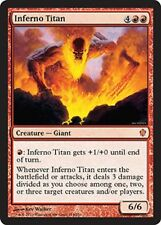 INFERNO TITAN NM mtg Commander 2013 Red - Creature Giant Mythic