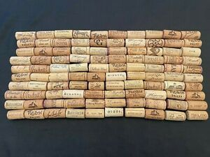 100 Natural Used Wine Corks - Ideal for Craft, Weddings, Upcycling.
