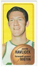 1970-71 TOPPS BASKETBALL #10 JOHN HAVLICEK 2ND YEAR SHORT-PRINT - EXCELLENT+