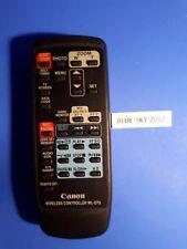 Genuine Canon WL-D73 Wireless Remote Control, GL1 Video Camera Camcorders II44