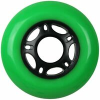 Inline Skate Wheel 76mm 89A Outdoor Green Rollerblade Single Hockey