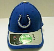 Boys Girls Women INDIANAPOLIS COLTS Cap Baseball Hat blue FLEXFIT Retail $25