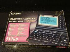 Diario Digital Casio SF-5980E - Pantalla de luz de fondo-Japón-Nuevo Y En Caja!