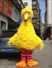 Free shipping Hot selling big Bird Adult Mascot Costume fancy dress Adult cloth