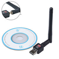 802.11n/g/b 150Mbps Mini USB WiFi Wireless Adapter Network LAN Card With Antenna