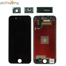 TOUCH SCREEN LCD DISPLAY RETINA PER APPLE IPHONE 6S PLUS SCHERMO NERO + FRAME