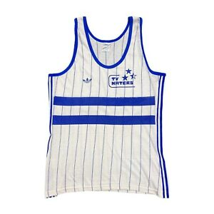 Adidas Originals 3 Stripe Sports Vest | Vintage 80s Retro Athletics TV Naters