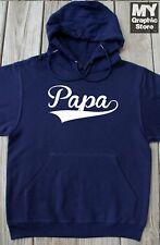 Papa Hoodie Fathers Day Birthday Christmas Gift Baseball Dad Grandpa Pops Poppy