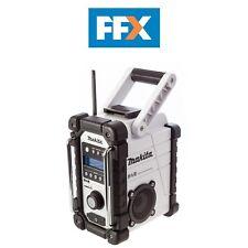 Makita DMR104W White DAB Jobsite Radio 18v or 240v