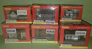 Hornby Lyddle End Buildings - N Gauge - Brand New