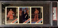 1985 Wrestling All-Stars Snuka Road Warriors Orton Hand-Cut PSA 7 NM Card POP 1