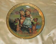 "8� M.I. Hummel ""Sisters� Decorative Collection Plate; By Danbury Mint"