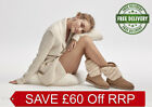 New UGG BNIB £195 Suede Leather Fur Women's Shoes Winter Boots UK 4 5 6 7 8 SALE