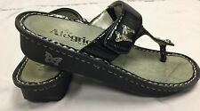 Allegria Black Sandals Girls Size 4