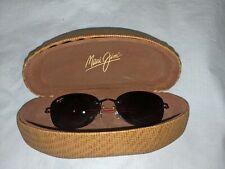 MAUI JIM MJ-719-07 NENE Burgundy/Polarized Maui Rose Sunglasses 52.5mm w/Case
