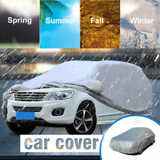 Full Car Cover Large Size Waterproof Outdoor Breathable Rain Snow UV Protection