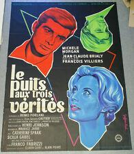 Affiche de cinéma : LE PUITS AUX TROIS VERITES de François VILLIERS