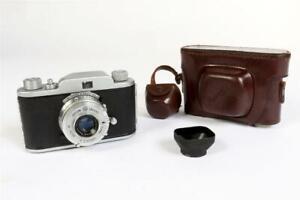"""Vintage ~ c1950 ~ """"Ferrania"""" """"Condor Junior"""" 35mm Camera        #2205"""