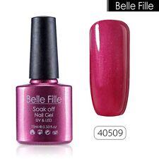 BELLE FILLE Soak Off Gel Polish UV&LED Nail Art Manicure DIY 79 Color NEW
