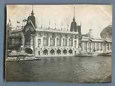 France, Paris, Palais des Forêts, Chasse, Pêche, Cueillettes   Vintage silver pr