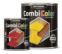 direct à métal noir peinture Rust-Oleum combicolor ORIGINAL Satin 2.5L