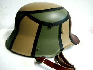 Stahlhelm M16 M17 1.Weltkrieg Deutsches Reich Wehrmacht Helm   Landser Repro !!