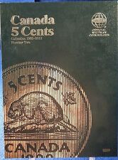 Whitman Canada 5 Cents VOL#2 1965-2012 Coin Folder, Album Book #3200