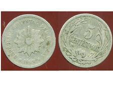 URUGUAY  5 centesimos  1909   ( bis )