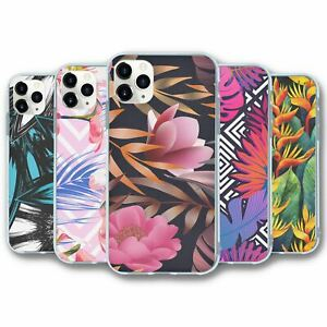 For iPhone 11 PRO Silicone Case Cover Tropical Collection 3