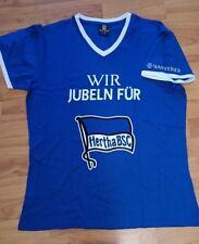 Fan-T-Shirt Hertha BSC Berlin Gr. L/XL Wir jubeln für... neu Warsteiner