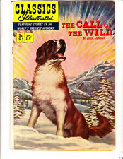 Classics ILL 91 (1952): The Call of the Wild: Original: FREE to combine: in VG+