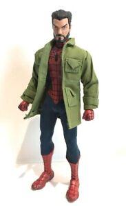SU-LTC-PGN: Green Jacket for Marvel Legends, Mezco Spiderman (No figure)