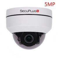 2.5 inch HD MINI DOME Metal Pan-Tilt-Zoom 5MP IP Camera 2.8-12mm 4X Optical Zoom