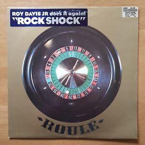 """ROY DAVIS JNR Rock Shock ROULE 304 France 1998 VINYL 12"""" EX"""